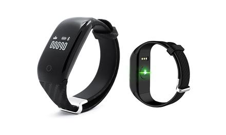 Pulsera deportiva Smartek HRB-390 con Bluetooth y medición de la frecuencia cardíaca