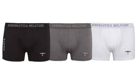 Pack de 6 boxers AeronauticaMilitare