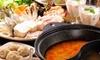 4種特製スープから選べるタイスキ2色鍋コース 他