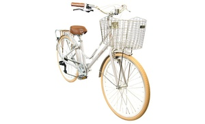 Classic Bicycle with Basket - Aluminum Comfort