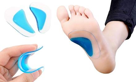 Soporte de silicona para arcos de los pies