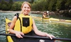 Up to 50% Off Kayaking or Paddleboarding