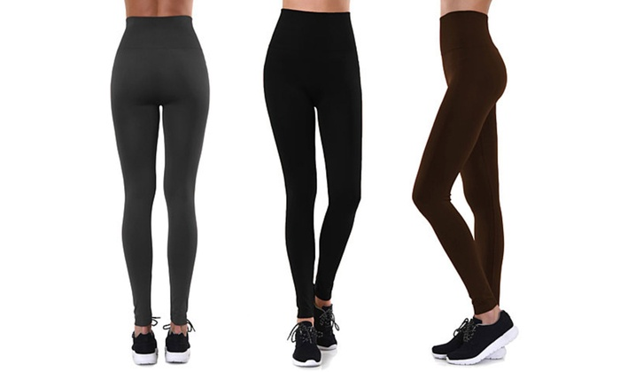 beed8dd7fb0991 Up To 75% Off on Women's Fleece-Lined Leggings | Groupon Goods