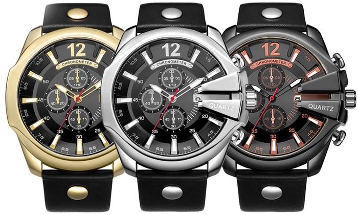 Men's Quartz Sports Wrist Watch from £32.99