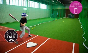 The Fieldhouse: $15 for 30-Minutes Access to a Batting Cage Lane for Two people at The Fieldhouse, Pakuranga (Up to $25 Value)
