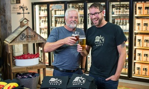 Up to 41% for Tour & Tasting at Beau's All Natural Brewing Co. at Beau's All Natural Brewing Co., plus Up to 4.0% Cash Back from Ebates.