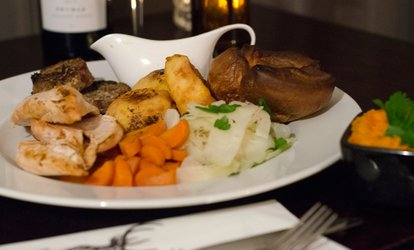 image for Sunday Roast for Two or Four at The Stag (Up to 67% Off)