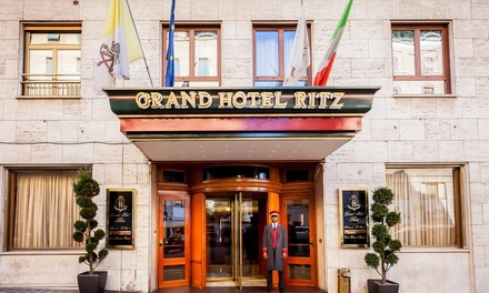 ✈ Rome: 2 to 5 Nights at a 5* Grand Hotel Ritz with Breakfast and Return Flights*