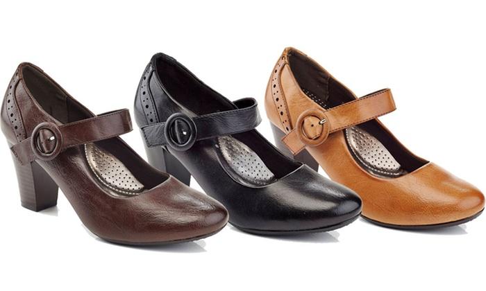 Rasolli Womens' Mary Jane Heels