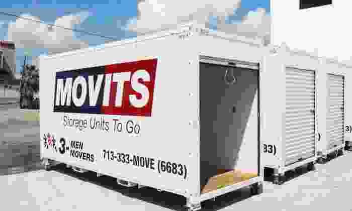 3 Men Movers - San Antonio: $99 for One Month of Portable Storage Services from 3 Men Movers ($235 Value)