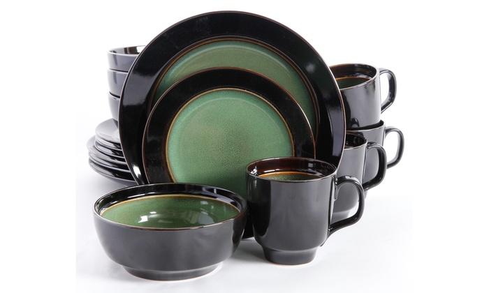 gibson elite dinnerware sets 16piece gibson elite dinnerware sets 16