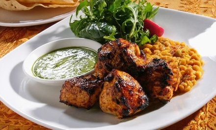 TwoCourse Meal with Sides and Drink for Two or Four at Zulaika Indian Restaurant