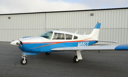 $95 for One-Hour Introductory Flight Lesson Plus 30-Day Membership at Eagle Air Flying Club ($240 Value)