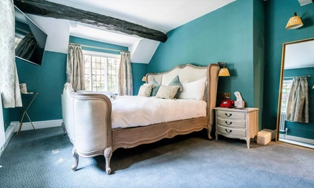 Cheshire: Double Room for Two with Breakfast, Main Course Dinner and Glass of Wine at The Bridge Hotel