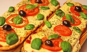 Moretti Bar: Desde $189 por tapeo de bienvenida + pizzas y pintas de cerveza a elección para dos o cuatro en Moretti Bar