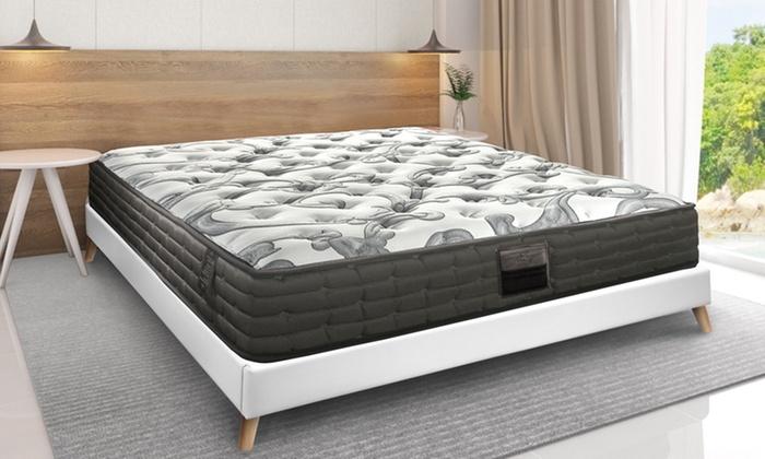 matelas beverly ressorts et m moire de forme groupon. Black Bedroom Furniture Sets. Home Design Ideas