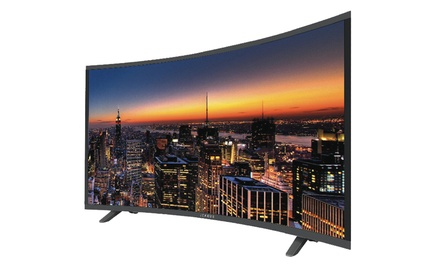 TV LED HD Icarius Incurvée, HDMI, USB, 16 Watts, 49 incurvée