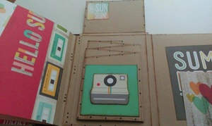 Pequeñus Scrapbook: Taller de scrapbooking para una o dos personas desde 12,90 € en Pequeñus Scrapbook