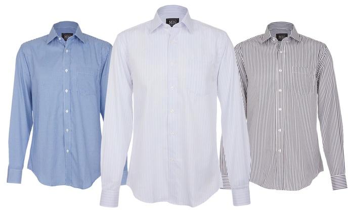 eac19ec578 Men s Formal Shirts by MIG