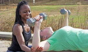 Portia's Total Fitness: Two or Four 60-Minute Personal-Training Sessions from Portia's Total Fitness (Up to 72% Off)