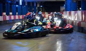 Kart Indoor Chrono: 1 ou 2 sessions adultes de 10 minutes, environ 20 tours, du mardi au vendredi dès 14,90 € chez Kart Indoor Chrono