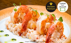 Ouro Minas – Quinto do Ouro: Restaurante Quinto do Ouro – Hotel Ouro Minas: entrada, prato principal e sobremesa para 2 ou 4 pessoas