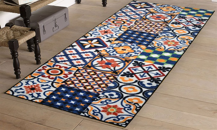 Awesome tapis carreaux de ciment images for Tapis pvc carreaux de ciment