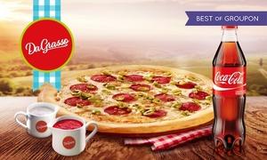 Pizzeria Da Grasso - Siemianowice Śląskie: Duża pizza i Coca-Cola od 22,99 zł w Da Grasso Siemianowice Śląskie (do -47%)