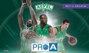 ASVEL Basket: 2 ou 4 places pour assister aux matchs de l'Asvel vs Rosa Rado ou Nanterre dès 15 € à l'Astroballe de Villeurbanne