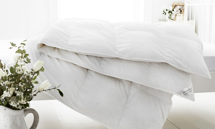 Goose Feather and Down Duvets in Choice of Size (£16)
