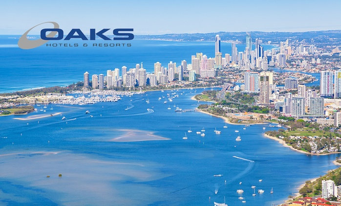 Gold Coast: 2-3 Nights Self-Catering Stay for Up to Four People at 4-Star Oaks Calypso Plaza