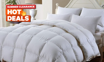 From $39 For an All-Seasons Ultra-Soft Bamboo Quilt (Don't pay up to $249)