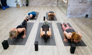 Yoga Dept: One-Month Unlimited Yoga, Pilates or Barre Classes for One ($49) or Two People ($95) at Yoga Dept (Up to $400 Value)