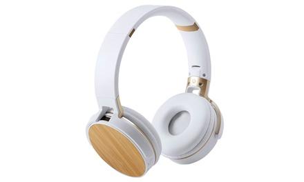 Auricular de diseño plegable Smartek con conexión Bluetooth 5.0