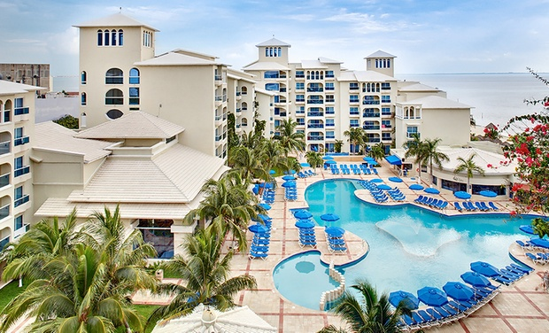 TripAlertz wants you to check out ✈ 3, 4, 6, 7-Night All-Inclusive Occidental Costa Cancún Trip w/ Nonstop Air. Price/Person Based on Double Occupancy.  ✈ All-Incls. Occidental Costa Cancún Trip w/Air from Vacation Express - All-Inclusive Cancún Vacation
