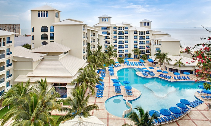Or Night AllInclusive Occidental Costa Cancún Trip - All inclusive vacations with air