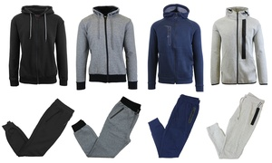 Men's Tech Fleece Hoodie and Joggers Set