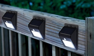 Solar-Powered Outdoor LED Light with Motion Sensor