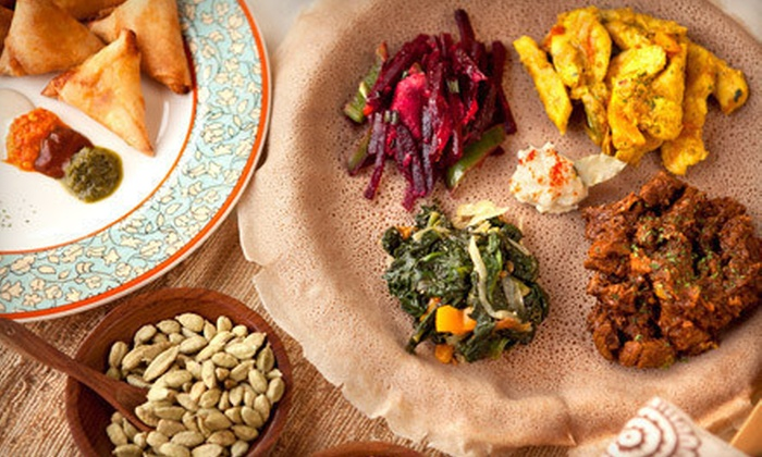 Manna Bistro & Bakery - Centreville: Ethiopian Food at Manna Bistro & Bakery (Half Off). Two Options Available.