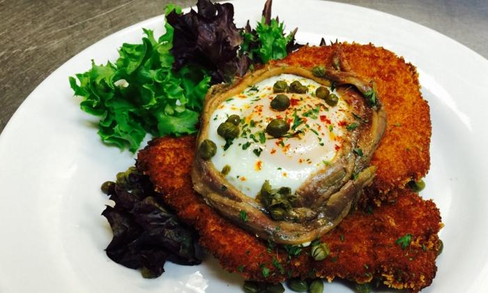 German Schnitzel Haus - Girvin: German Cuisine for Lunch or DInner at German Schnitzel Haus (Up to 42%  Off). Three Options Available.