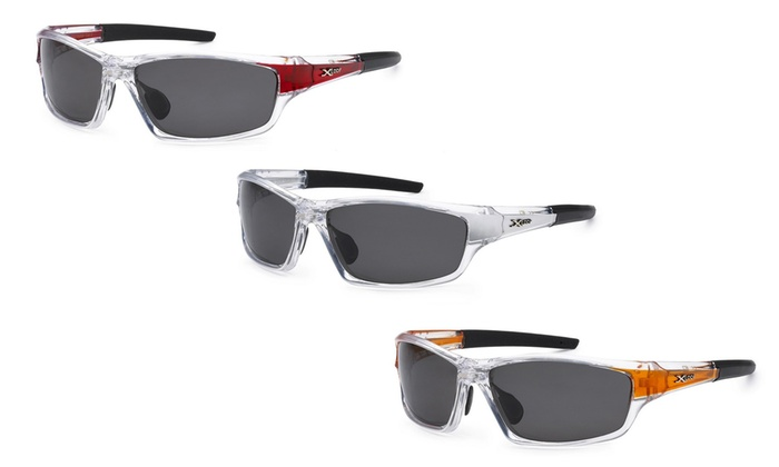 X-Loop Sports Wrap Unisex Polarized Sunglasses