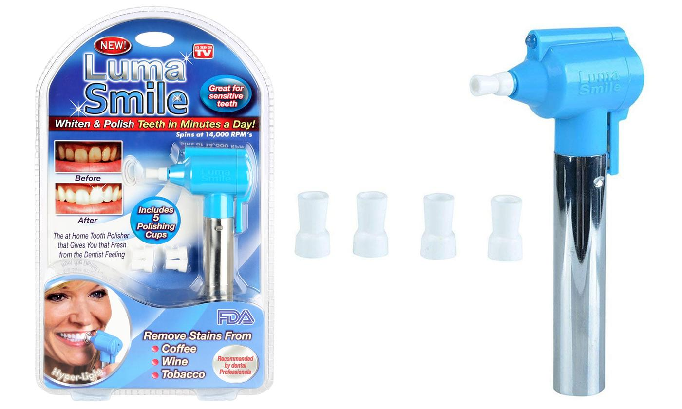 One or Two Luma Smile Teeth Cleaners