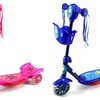 Kids' 3-Wheel Metal-Frame Toy Kick Scooter