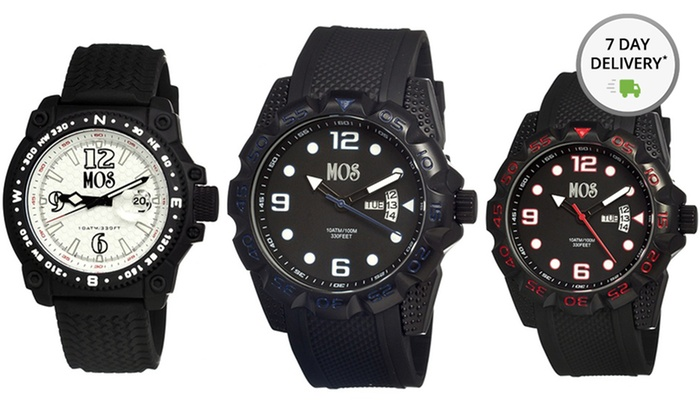 Men's Mos Watches: Men's Mos Watches. Multiple Styles Available. Free Shipping and Returns.