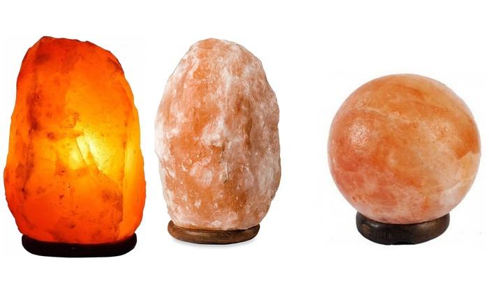 Lampade Cristallo Di Sale : Lampade di sale rosa dellhimalaya groupon goods