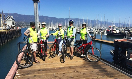 Four-Hour Electric Bike Rental for Two at E-Bikes Santa Barbara (up to 27% Off)