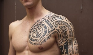 Icon Style: One- or Three-Hour Tattoo time plus a design Consultation at Icon Style (Up to 71% Off)