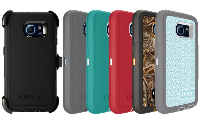 OtterBox Defender Series Galaxy S6 Case with Holster