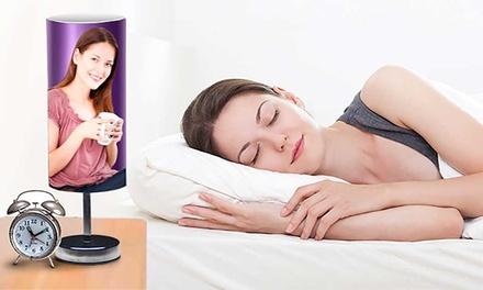 Touch Nachttischlampe mit eigenem Foto