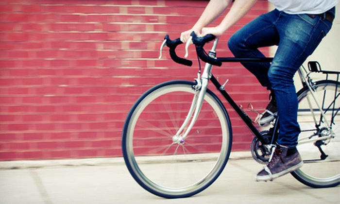 Harper's Bike Shop - Knoxville: $22 for $50 Worth of Bicycle Gear and Services at Harper's Bike Shop